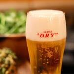 納屋橋 ラムチョップ パクチー'S - パクしゃぶにビールも進みます