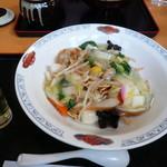 蓮田サービスエリア(下り線)レストラン - 皿うどん950円