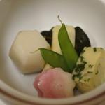 きくよし - 野菜の炊き込み