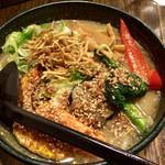 63861397 - 十種の彩り野菜らぁ麺 (味噌)  960円