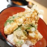 季節料理 あま乃 - 穴子天丼