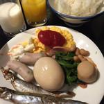 湯村ホテルB&B - 料理写真:201703