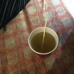 なごみカフェ夢や - 梅こんぶ茶300円