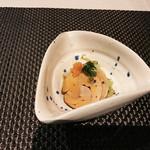 ゼックスウエスト 炙り焼き&寿司 アン - 付きだしのあん肝ポン酢