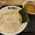 武者麺 SEA - 魚介つけそば(カレー・並)