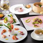 中国料理 「唐宮」  - 「SAKURA コースメニュー」ディナー