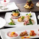 中国料理 「唐宮」  - 「SAKURA コースメニュー」ランチ