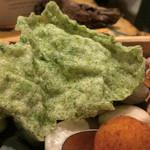 イル テアトリーノ ダ サローネ - Chips di alghe海藻チップス