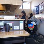 麺屋 あがら  - テーブル席