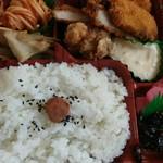 弁当のこころ - 料理写真:ミックスフライ弁当