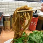 長田本庄軒 - 麺