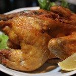 鳥のよこた - 大人気★鶏の丸揚げは1/2・1/4サイズも有ります!シンプルな味わいがクセになる♪