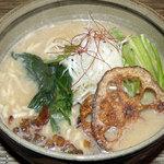 玄菜院 風土 - 豆乳玄菜麺席(豆乳玄菜麺)