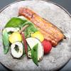 料亭 福寿家 - 料理写真:鯰の蒲焼と彩り野菜