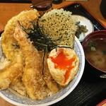 たま天 - 天丼 並 with揚げ玉子