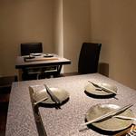 大人の鉄板 Basaro - 落ち着いた雰囲気の半個室