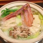 まる屋 - カニ鍋