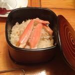 まる屋 - 朝食・カニ飯