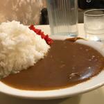 喫茶 田川 - 中で、ライスがこの高さ!!