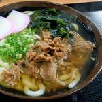 大吉 - 美味しい肉うどんでした。