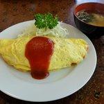 ことぶき食堂 - オムライス600円