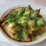 クチーナ ヒラタ - 野菜のカチョカバッロチーズ焼き