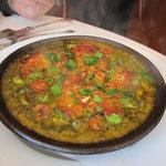 クチーナ ヒラタ - 牡蠣のガーリックバター焼き