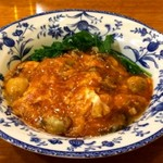 三鶴 - カキのチリソース炒め