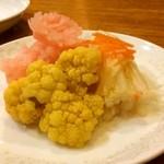 三鶴 - 季節野菜の酢漬け