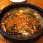 三鶴 - 牛スジの煮込 四川風