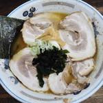 チャーシュー専門店 チャーシュー力 - 醤油チャーシュー麺1000円
