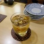 浜味屋 - 梅酒のソーダ割
