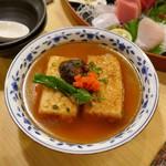 浜味屋 - 揚げ出し豆腐