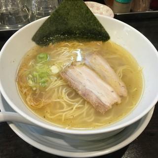 麺屋一龍 - 料理写真:塩らーめん(750円)