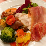 ピッツェリア・サバティーニ - pizzeria風前菜の盛り合わせ