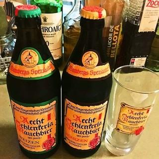 もちろん燻製ビールもあります!