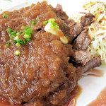 ミルポア - 牛カルビステーキ定食1550円