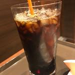 サンマルクカフェ - アイスコーヒーMサイズ