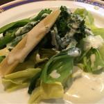 厨 - スチーム温野菜 ハーブチーズソース