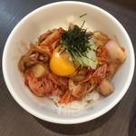 麺屋りゅう - 週替わり丼(豚キムチ丼)