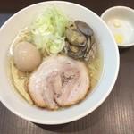 麺屋りゅう - 味玉 塩らーめん