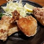 三田製麺所 ヨドバシAkiba店 - 唐揚げ3個(280円)
