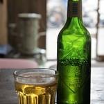 ドラゴン - ハートランドビール、小瓶で600円は高いですが、ここではCPは問いませんから(2017.3.13)