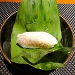 寿司 さ々木 - のどぐろの蒸し寿司