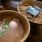 つけ麺 えん寺 - ベジポタ味玉・肉入り@1100円