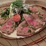 メランジュ - 牛タタキのサラダ