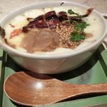 メランジュ - フォアグラと炒め玉ねぎ 粒マスタードグラタン