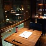 元祖博多めんたい重 - (2017/1月)私が着席した2階の席