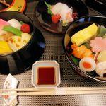 京相模 - 料理写真:三段重ねオープン