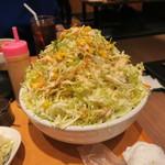 ざんまい - サラダ…はんぱない量